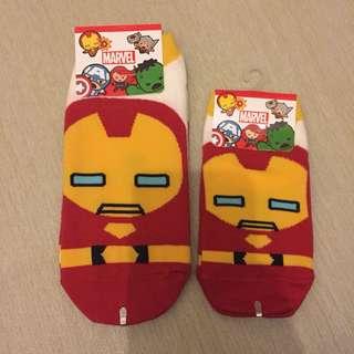 Korean Iron Man Socks