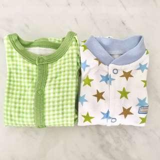 Preloved baby boy sleepsuits (0-6 months)