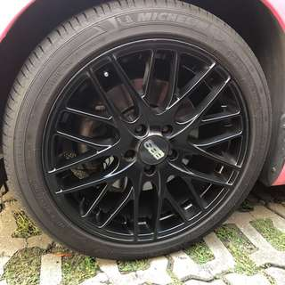 Original BBS Rims Scirocco VW