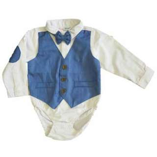 Candy World Longsleeves Shirtzie with Vest