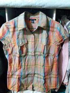 Tommy checkered polo