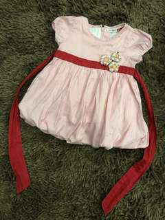 Baby poney dress authentic 100%