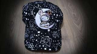 **AUTHENTIC**BNWT tokidoki cap - hello kitty donutella  star struck snapback