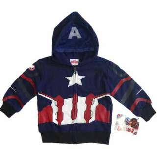 Marvel Captain America Hooded Jacket