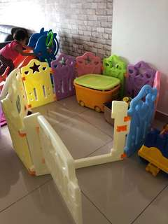 Baby Play Yard (8+2) Baby Fence