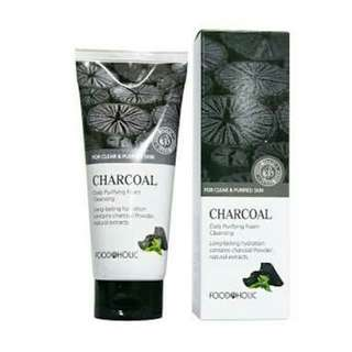 Foodaholic Daily Purifying Charcoal Cleansing Foam