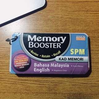 Memory booster English Spm