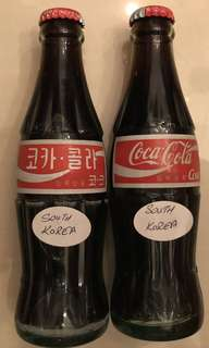 Glass Coke Bottles (South Korea)