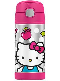 Thermos FUNtainer Straw Bottle - 12 oz *Hello Kitty pink*