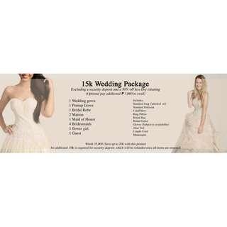 WEDDING PACKAGE 15K