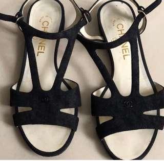 Chanel sandal flats
