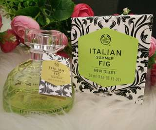 THE BODY SHOP Parfum EDT Italian Summer Fig 50ml ORI
