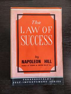 The Law of Success ( Napoleon Hill )