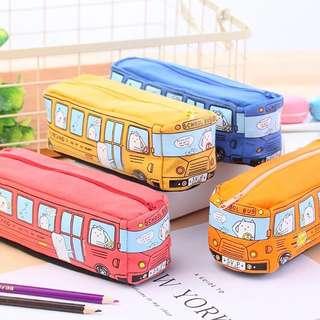 [NEW] Boys Bus 🚌 Pencil Case Stationary Holder