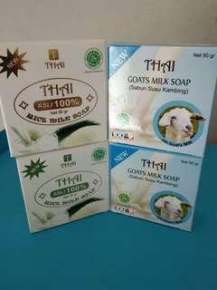 Sabun beras / sabun susu kambing