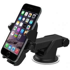 Car Holder smartphone Long Neck - Black