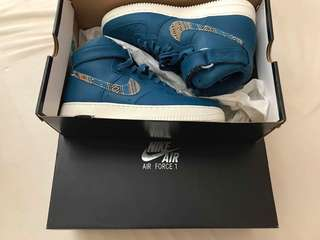Nike Airforce 1 High '07 Lv8 Industrial Blue
