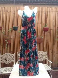 Palm Tree Maxi Dress
