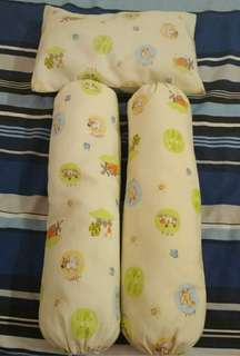 Baby pillow & bolster set