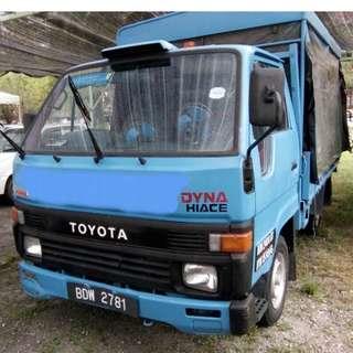 Toyota Dyna Hiace year 1993