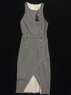 Forever New Black & White Dress NWT Size 6