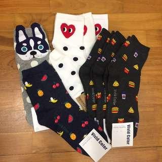 UNISEX High Korean Socks