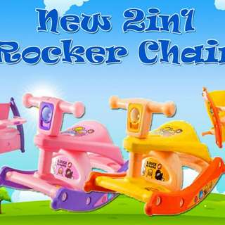 ~free postage~ 2 in 1 Rocker Chair