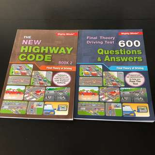 Final Theory & Q&A Driving Books