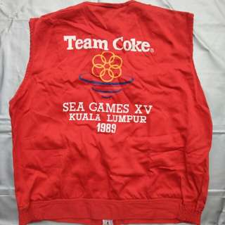 SEA GAME 1989 TEAM COKE