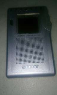Sony Japan cute pocket radio