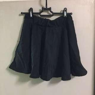 女裝 women 黑色 black 半截裙 短裙 迷你裙 mini skirt dress plain basic H&M monki Zara topshop OL 斯文 返工 上班 小資女