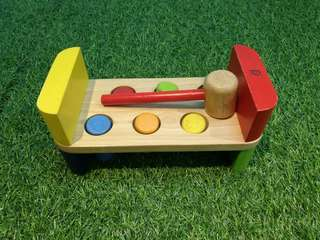 Pintoy wooden hammer toy