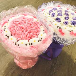 CHEAPEST Hello Kitty Bouquet + 11 soap roses