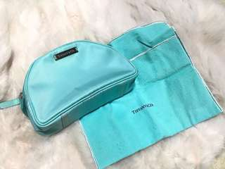 Preloved Tiffany & Co. cosmetic pouch