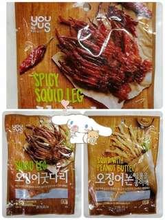 🚚 韓國烤魷魚腳