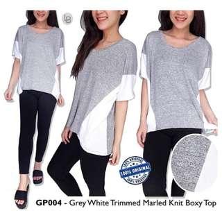 Gap Tshirt Grey White