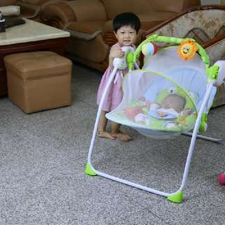 Fairchlid Baby Swing ( mosquito net and remote control )  Rm188 Inc pos semenanjung  Pm Wasap 0176725125