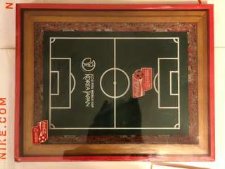 Coca Cola 2002 fifa World Cup Korea japan wooden frame 球場木架