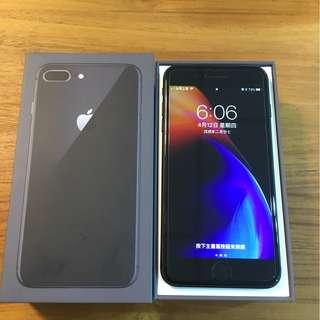 95% new apple iphone 8 plus 64g 灰色