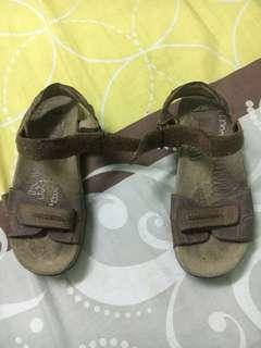 clarks leather sandal