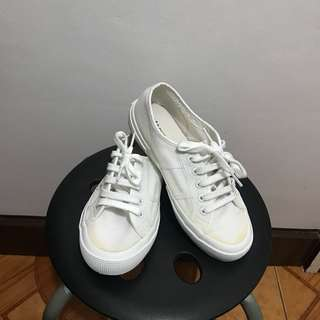 Superga All-white Sneakers
