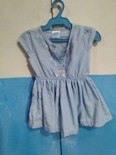 Preloved denim dress