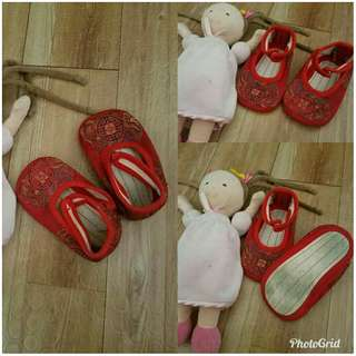 Chinese doll shoes