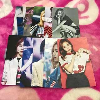 [BUY 5 SET FREE 1 SET] Twice Mina, Momo, Tzuyu Fanmade Unofficial Photocard Set