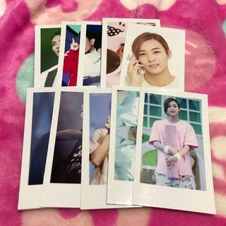 Seventeen Jeonghan Fanmade Unofficial Lomo Card