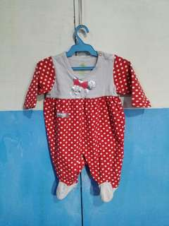 Preloved minnie mouse frog suit