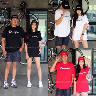 Champion t-shirt for couples