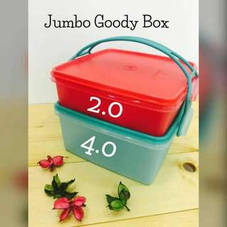 Tupperware jumbo goody box