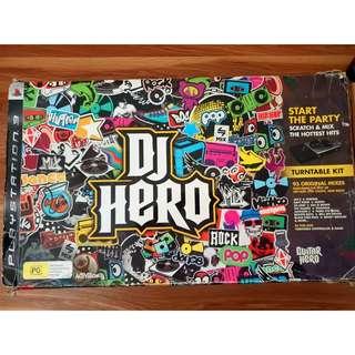 DJ Hero Turntable Kit for PS3