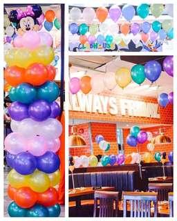 """Pro Decor 10"""" balloons 3pesos per piece"""